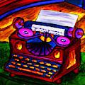 Typewriter by Hugo Heikenwaelder