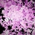 Ultraviolet Leaves Landscape Photograph by Itsonlythemoon