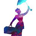 Umbrella Lady by David Millenheft