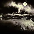 Un Fantasme Sombre by Leigh Kemp