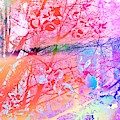 Under The Trees Colourful by Itsonlythemoon