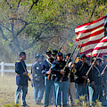 Union Infantry Advance by Tommy Anderson