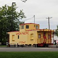 Union Pacific Caboose by Paul Meinerth