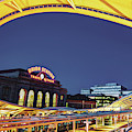 Union Station Of Denver Colorado by Gregory Ballos