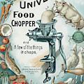 Universal Food Chopper No. 2  1899 by Daniel Hagerman