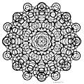Untitled  Mandala by Manuel Bennett