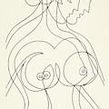 Untitled, Nude Woman by Manuel Bennett