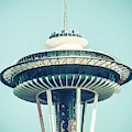 Untitled Space Needle by Brett Nelson