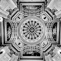 Up At The Pennsylvania Capital Rotunda by Paul W Faust - Impressions of Light