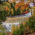 Upper Tahquamenon Autumn Colors -0007 by Norris Seward
