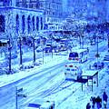 Upper West Side, Manhattan, Snow,  by Anthony Butera