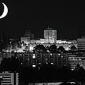 Urban Moonset by I Hope You'll Like It