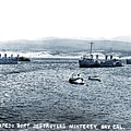 U.s. Destroyers Of The First Division, Torpedo Flotilla, Pacific by California Views Archives Mr Pat Hathaway Archives