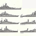 Us Navy Battleships Of World War II by Steve Estvanik