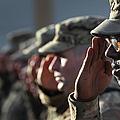 U.s. Soldiers Commemorate 911 by John Moore