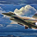 Usaf F-16 Viper by Blake Richards