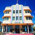 Usa,florida,miami Beach,art Deco by Randy Wells
