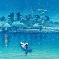 Ushibori - Top Quality Image Edition by Kawase Hasui