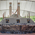Uss Cairo Ironclad Gunboat by Susan Rissi Tregoning