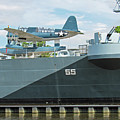 Uss Carolina Battleship Wilmington Nc by Roberta Byram