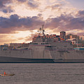 Uss Charleston - Litoral Combat Ship by Dale Powell