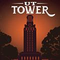 Ut Tower by Weird Austin Photos