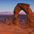 Utahs Delicate Arch At Dusk by Andrew S