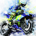Valentino Rossi - 18 by Andrea Mazzocchetti