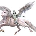 Valkyrie Angel by Betsy Knapp