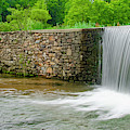 Valley Creek Waterfall Panorama by Bill Cannon