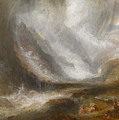 Valley Of Aosta by Joseph Mallord William Turner