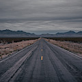 Valley Of Fire Highway  by Michael Ver Sprill