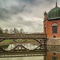 Vallo Castle Wooden Moat Bridge by Antony McAulay