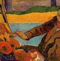 Van Gogh Painting Sunflowers 1888 by Gauguin Paul