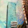 Vancouver Skyline by Theresa Tahara