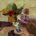 Vase Of Flowers 1886 by Gauguin Paul