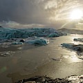 Vatnajokull Glacier 2 by Dubi Roman