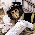 Venetian Mask 2019 003 by Wolfgang Stocker