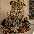Venetian Mask 2019 004 by Wolfgang Stocker