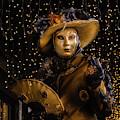 Venetian Mask 2019 006 by Wolfgang Stocker