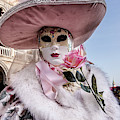 Venetian Mask 2019 007 by Wolfgang Stocker