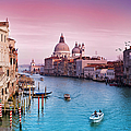 Venice Canale Grande Italy by Dominic Kamp Photography