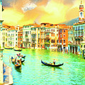Venice Gondoliers by Dominic Piperata