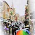 Venice In The Rain by Chris Armytage