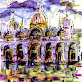 Venice Piazza San Marco by Ginette Callaway