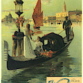 Venice Venise Vintage French Advertising by Vintage French Advertising