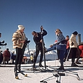 Verbier Skiers by Slim Aarons