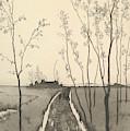 Verfolgung, From The Series Radierte Skizzen by Max Klinger