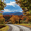 Vermont Backroad Ramble In Autumn by Jeff Folger