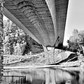 Vermont Bridge B W by Rob Hans